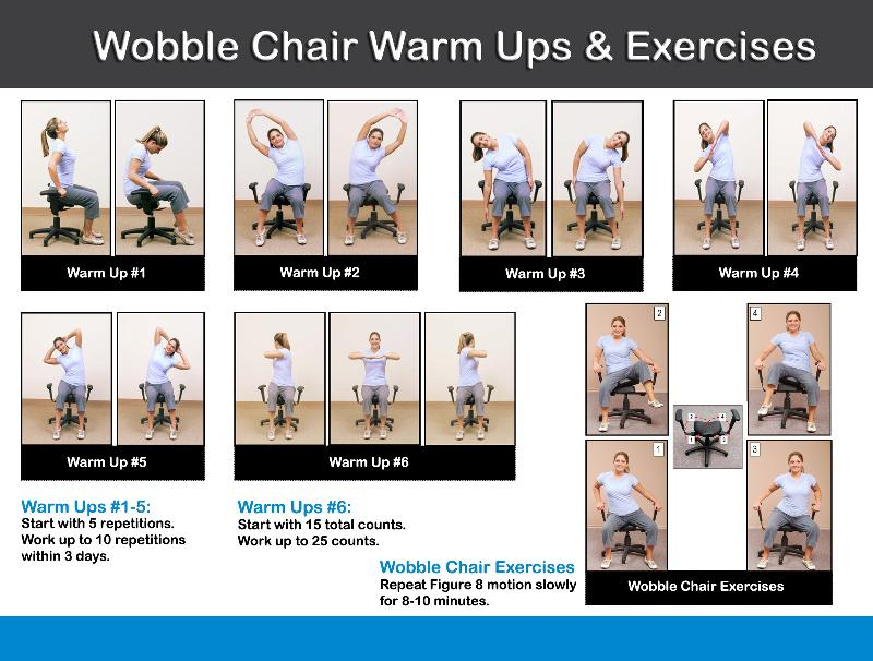 Wobble Chair Exercises  sc 1 st  Milam Chiropractic & Wobble Chair Exercises